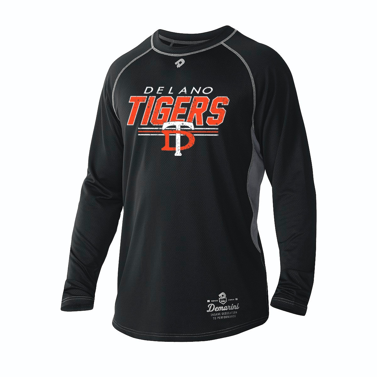 DeMarini Men's Black Game Day Long Sleeve