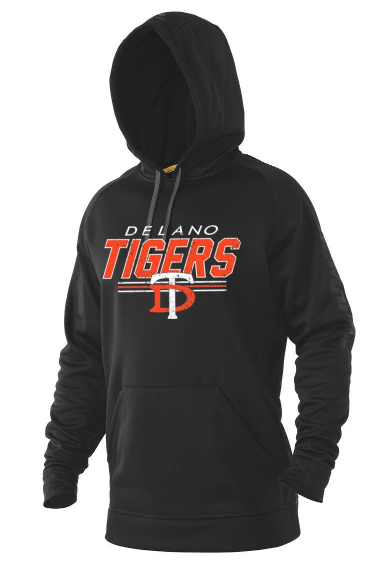 DeMarini Adult Black Post Game Fleece Hooded Sweatshirt