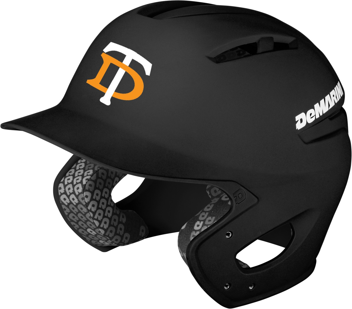 DeMarini Black Paradox Batting Helmet