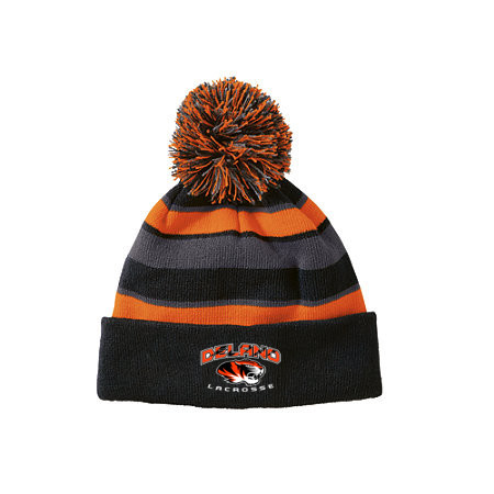 Holloway Sportswear Black/Orange/Graphite Comeback Beanie